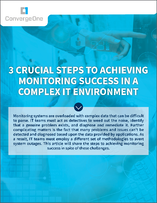 Achieving Monitoring Success-1