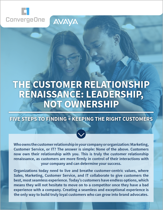Customer Relationship Renaissance White Paper