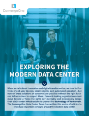 Exploring the Modern Data Center