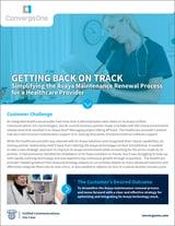 Healthcare Provider - Avaya Maintenance