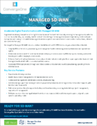 Managed SD-WAN with Meraki Data Sheet