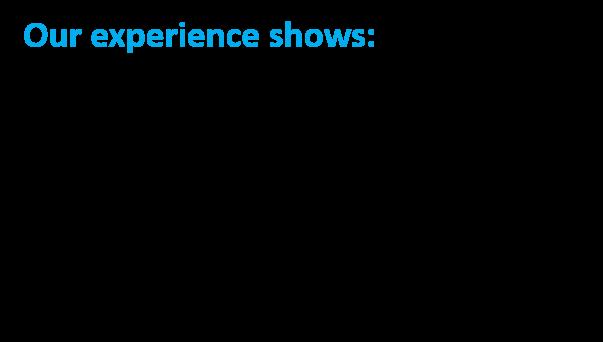 Microsoft experience