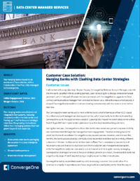 Managed Services Data Center Finance