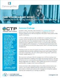 CTP Travel UCaaS CCaaS