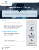 Cyber Recovery Services Data Sheet