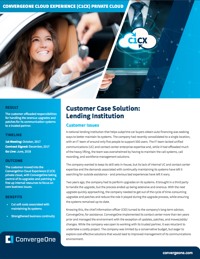 Lending Institution UCaaS CCaaS