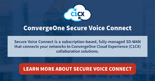 ConvergeOne Secure Voice Connect SD-WAN