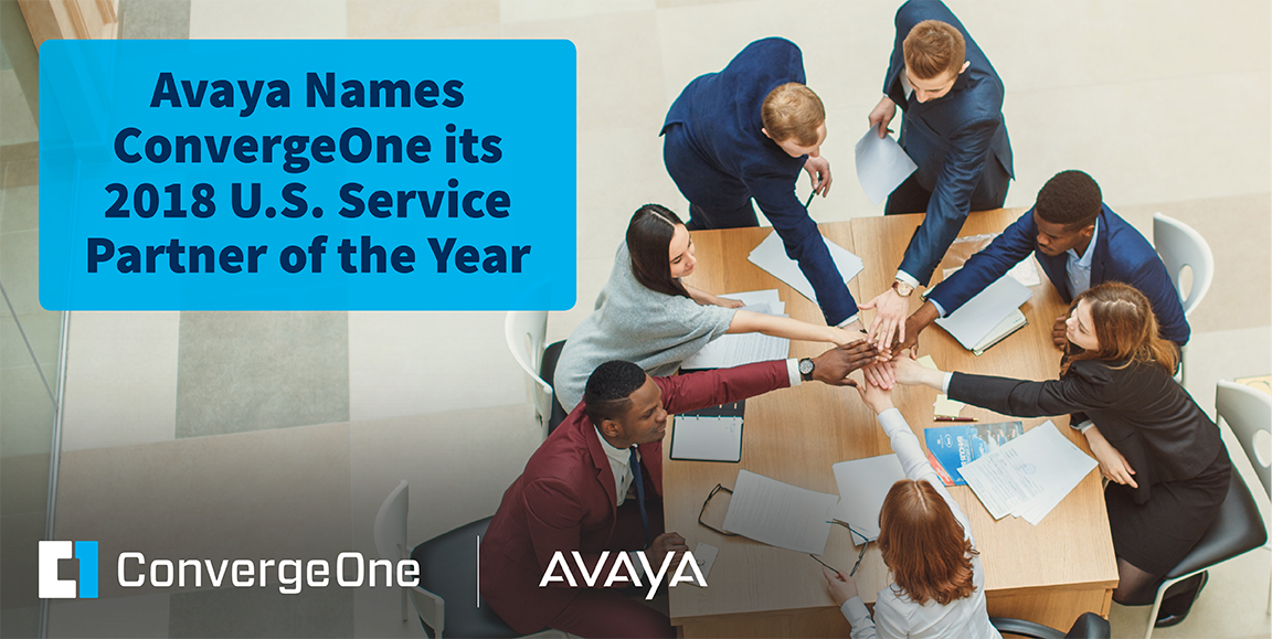 ConvergeOne Named 2018 U.S. Service Partner of the Year by Avaya