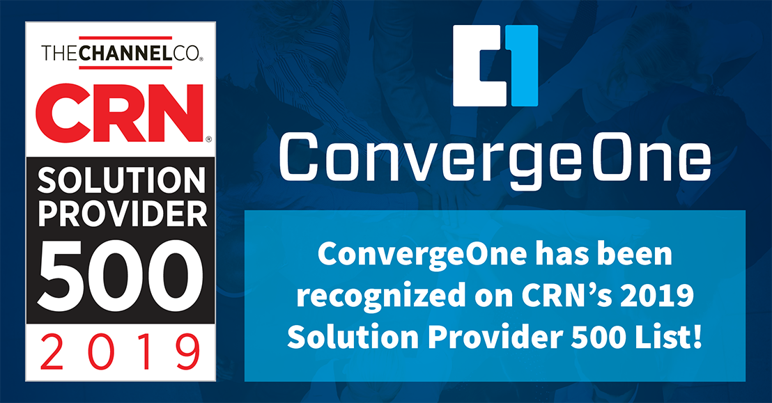 ConvergeOne Recognized on CRN's 2019 Solution Provider 500 List