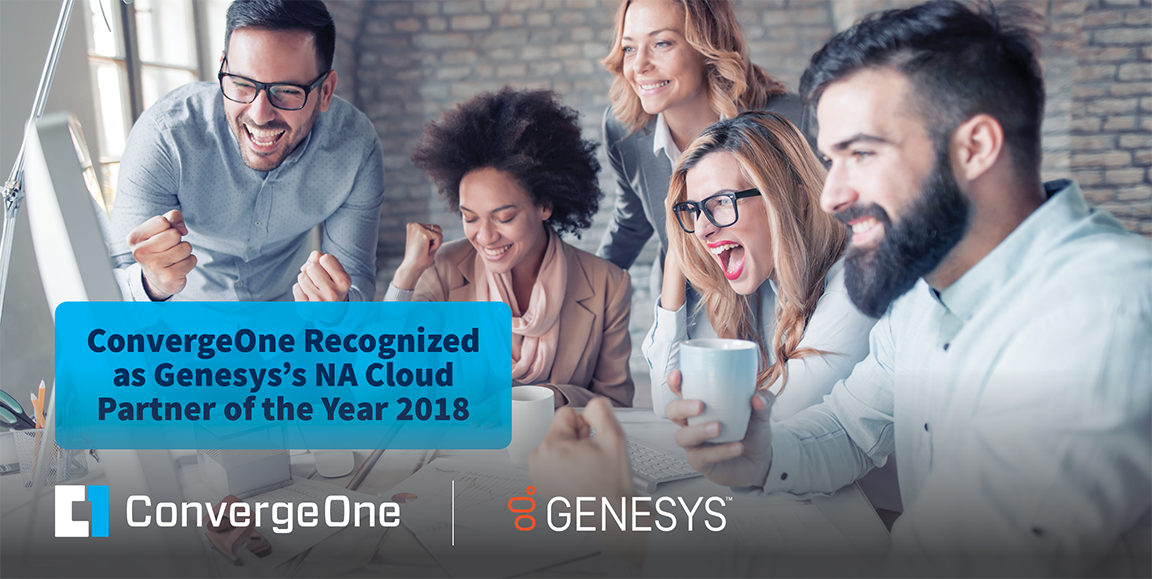ConvergeOne Recognized as NA Cloud Partner of the Year at Genesys Xperience19